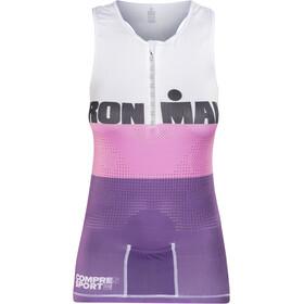 Compressport TR3 Kobiety Ironman Edition różowy/fioletowy
